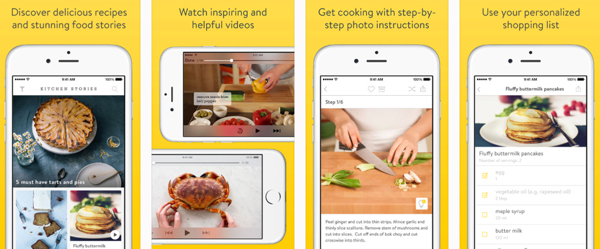 Food apps we think you should know about part 1 of 3 unthinkable for beautifully presented recipes inspiring videos and lovely create share functionality usability wise kitchen stories has been described as the best forumfinder Image collections