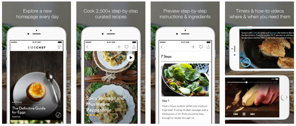 Food apps we think you should know about part 1 of 3 unthinkable this has been described as the ultimate cooking companion and the new york times rates it as their best cooking app it does as the name suggests walks forumfinder Image collections
